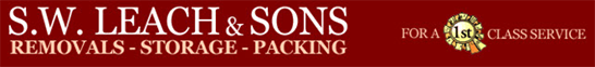 S W Leach & Sons logo